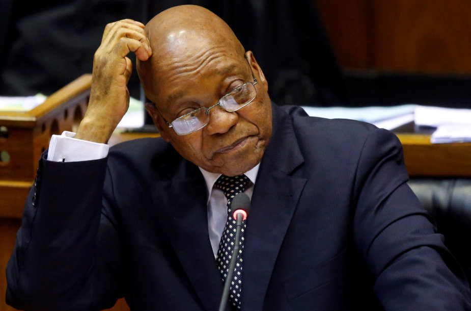 PAR prezidentas Jacobas Zuma