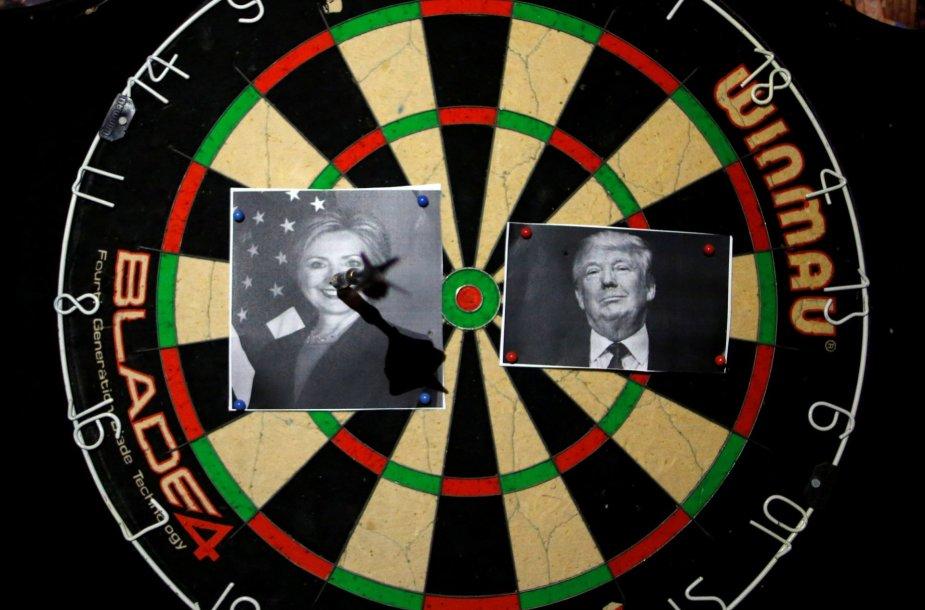 Pasaulio reakcija į JAV prezidento rinkimų rezultatus