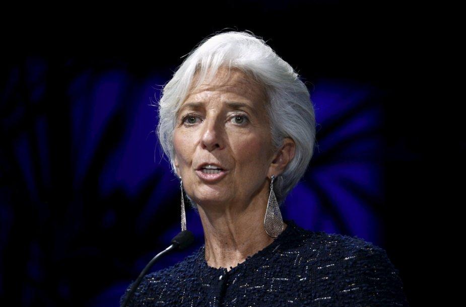 23. Tarptautinio valiutos fondo direktorė Christine Lagarde