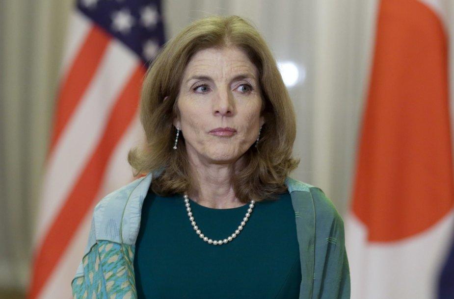JAV ambasadorė Caroline Kennedy