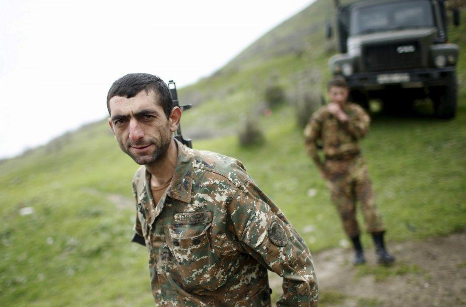 Kalnų Karabacho kariai