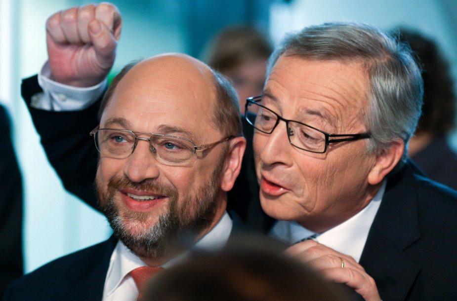 Linksmasis Eurogrupės vadovas Jeanas-Claude'as Junckeris