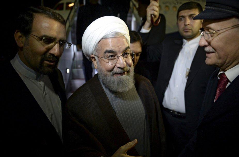 Irano prezidentas Hassanas Rouhani