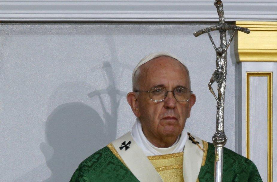 Popiežius Pranciškus Filadelfijoje