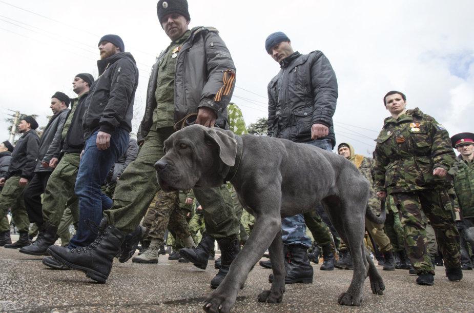 Prorusiškų separatistų šuo Donecke