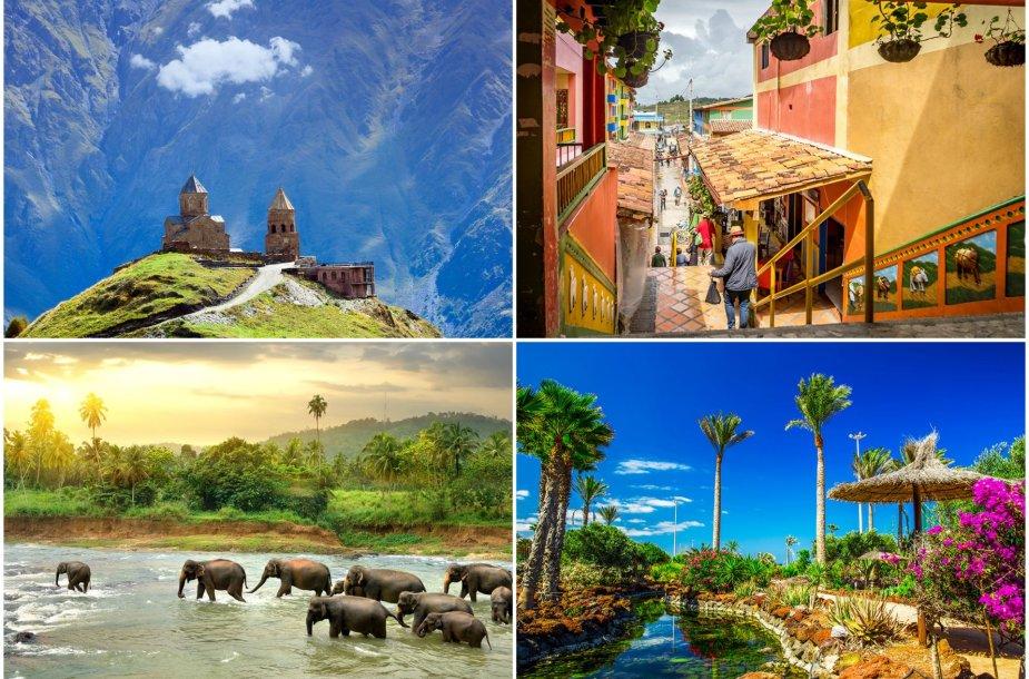 Egzotiškos šalys