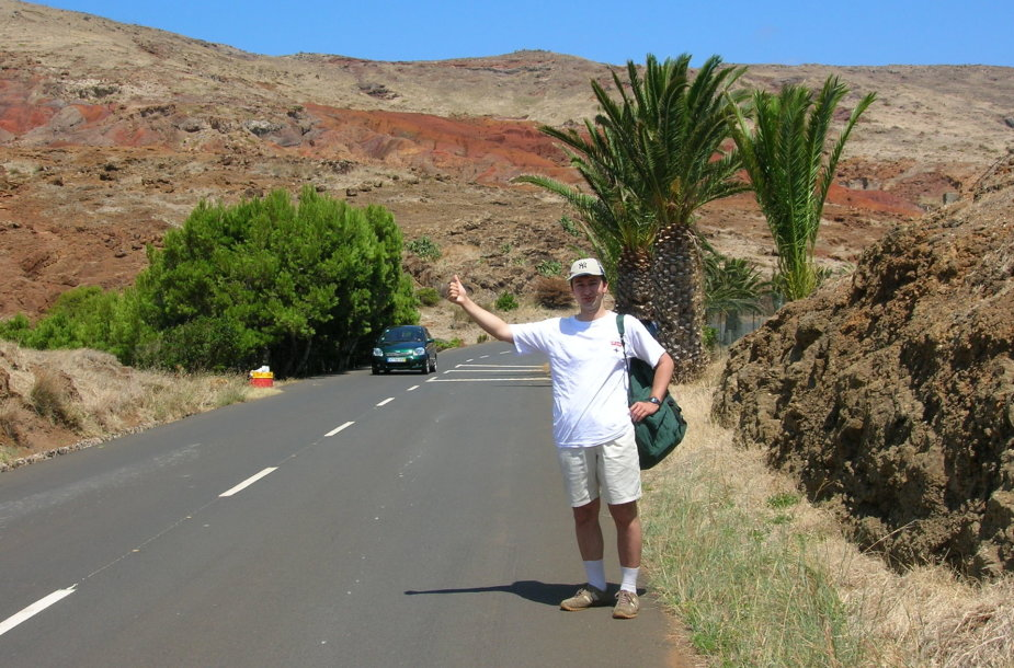 Robertas Pogorelis autostopu keliauja jau beveik 20 metų