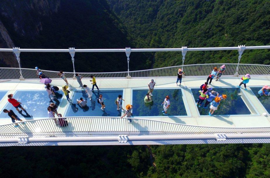 Ilgiausias pasaulyje stiklo tiltas