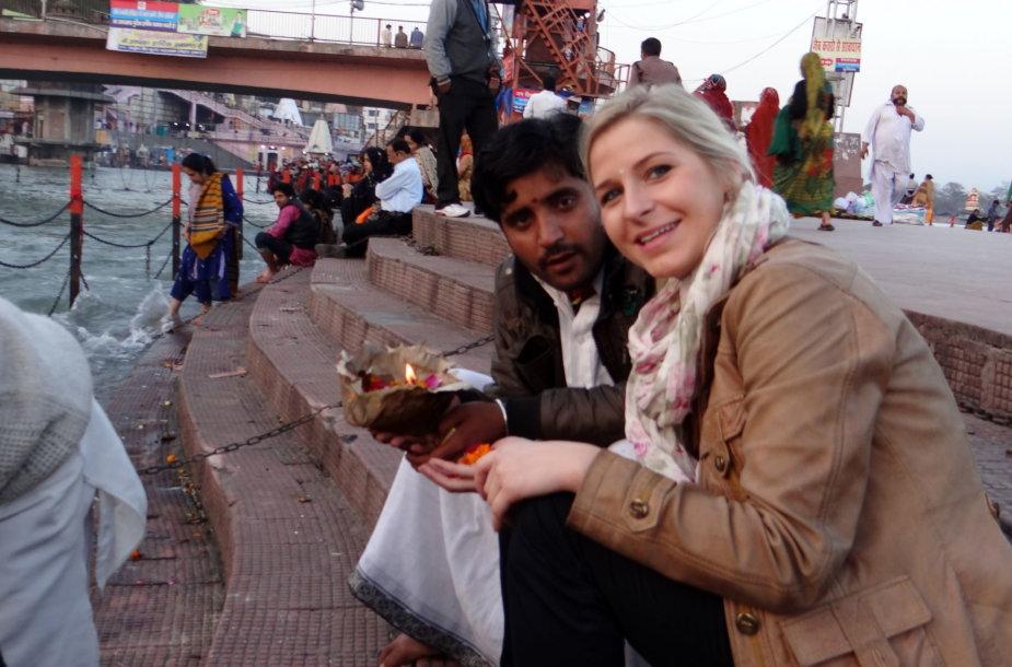 Indijoje turizmo agentūrą įkūrusi Šarūnė Baubaitė