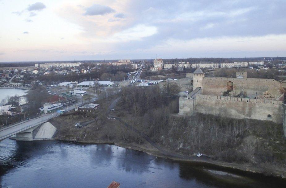 Iš Narvos į Rusiją vedantis tiltas