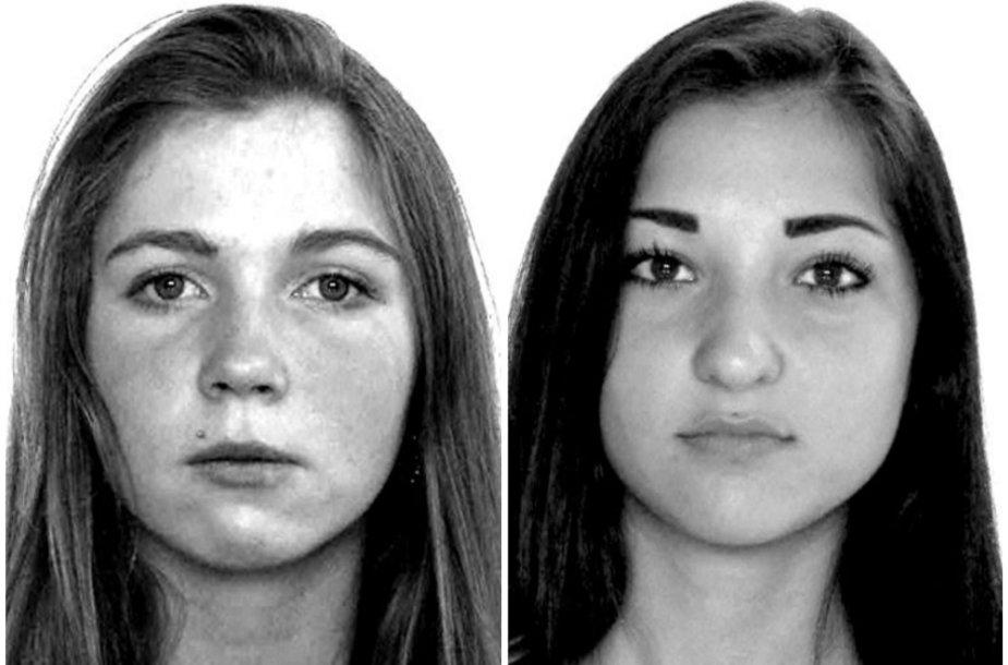 Ieškomos dvi nepilnametės – Kheda Chinkhoeva ir Gabrielė Petkevičiūtė