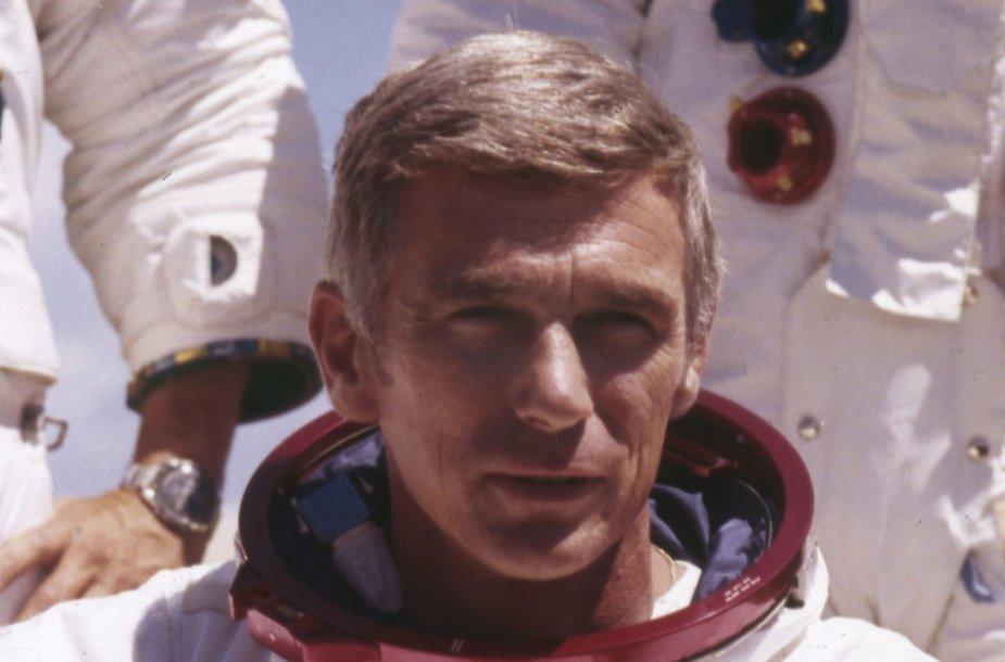 JAV astronautas Eugene'as Cernanas