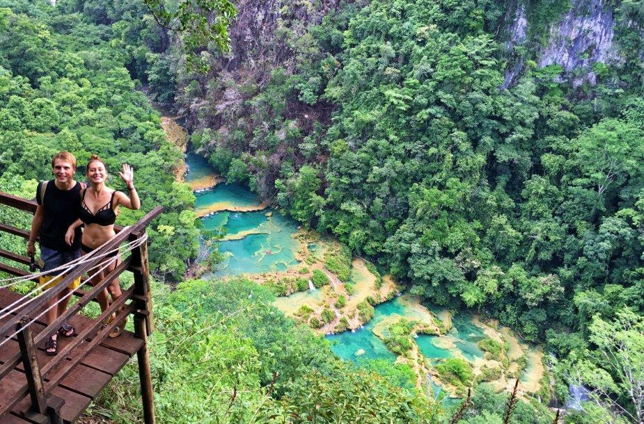 Nuostabi Gvatemalos gamta