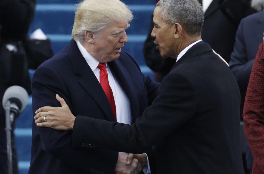 Prisaikdinamas 45-asis JAV prezidentas – Donaldas Trumpas