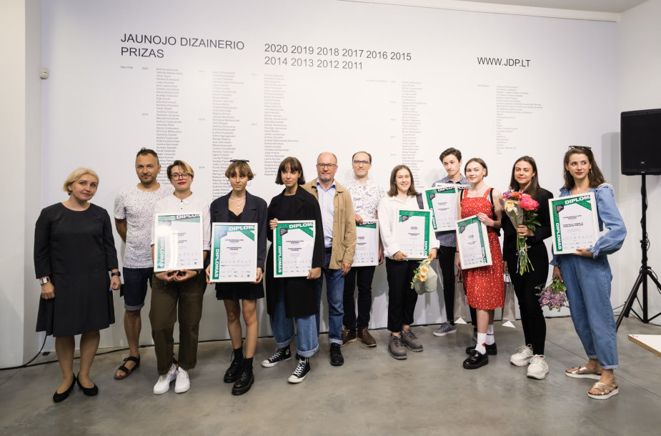 Apdovanoti geriausi šių metų jaunieji dizaino darbų autoriai
