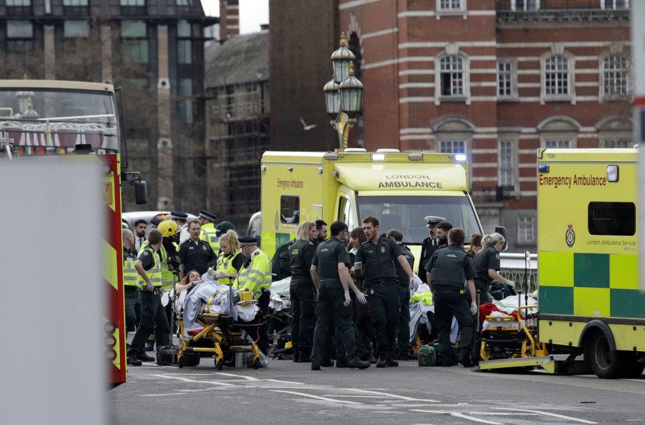 Teroro išpuolis Londone
