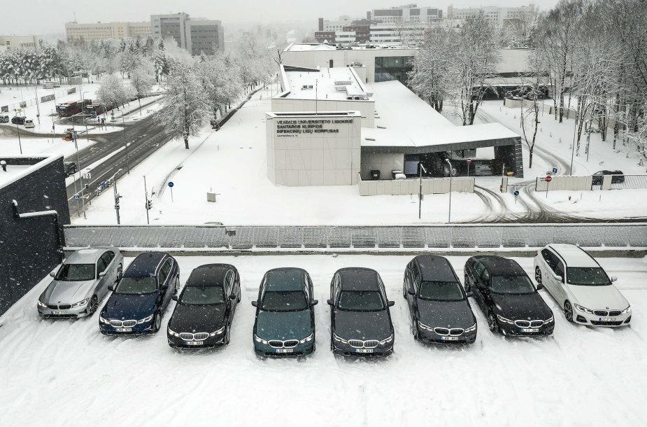 BMW automobiliai medikams