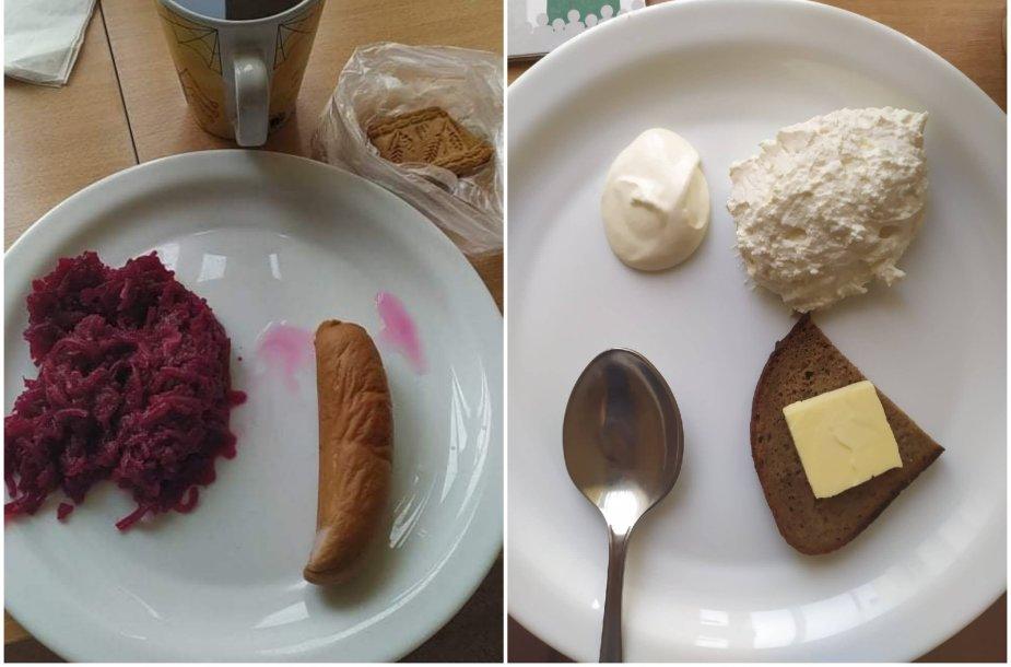 Vilniaus gimdymo namų maistas