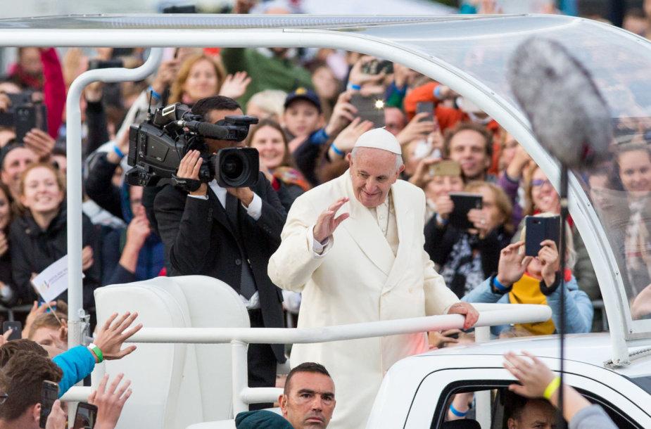 Popiežius Katedros aikštėje