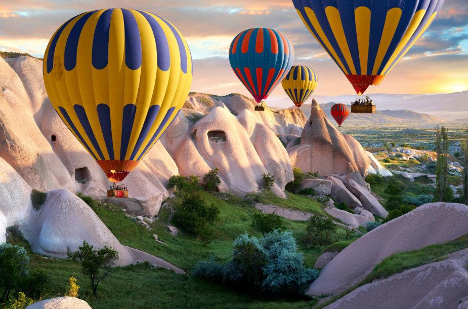 Skrydis oro balionu Kapadokijoje, Turkijoje