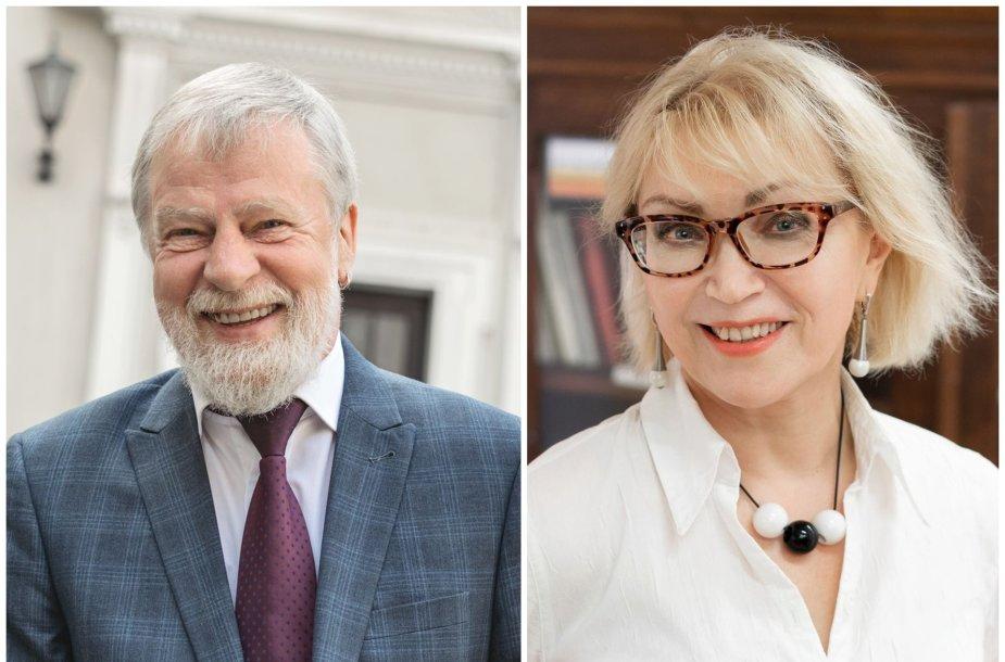 Pavelas Lavrinecas ir Viktorija Ušinskienė