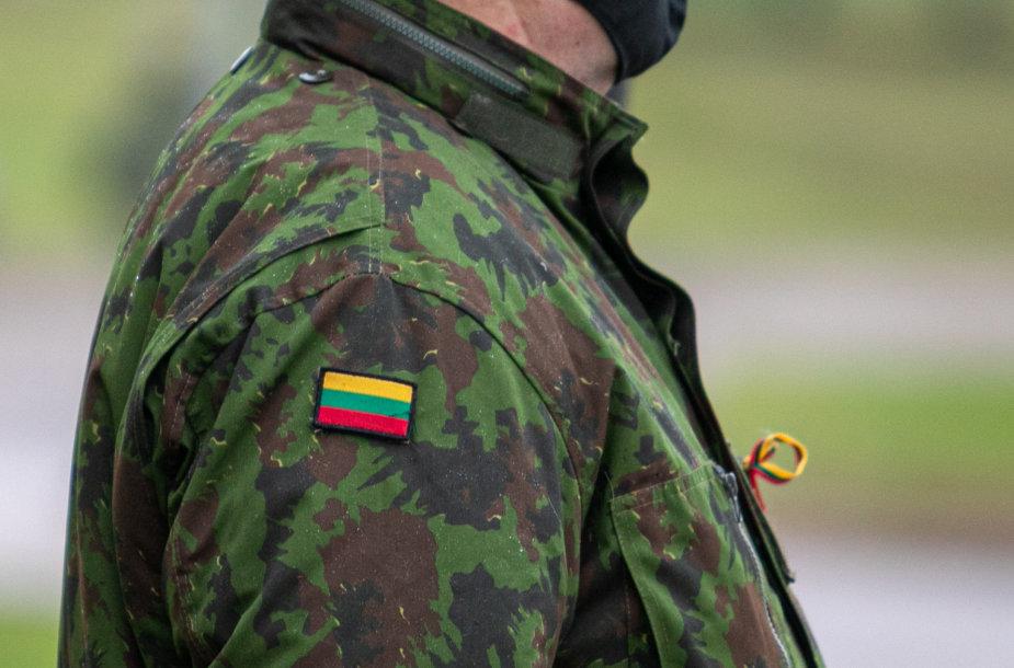 Lietuvos kariuomenės pajėgų vėliavų pakėlimo ceremonija Lietuvos didžiojo kunigaikščio Gedimino štabo batalione
