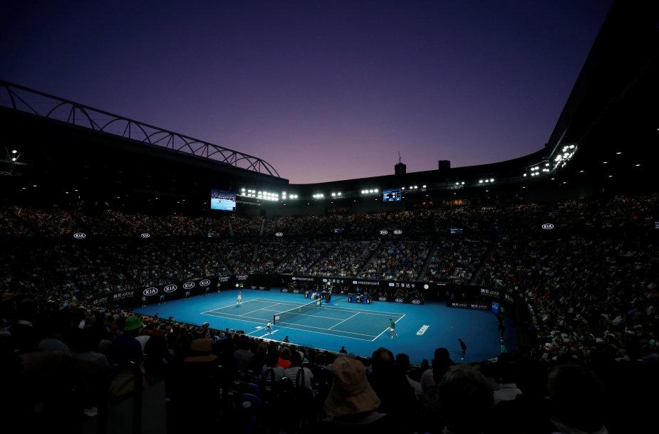 """""""Australian Open"""" vyks vėliau"""