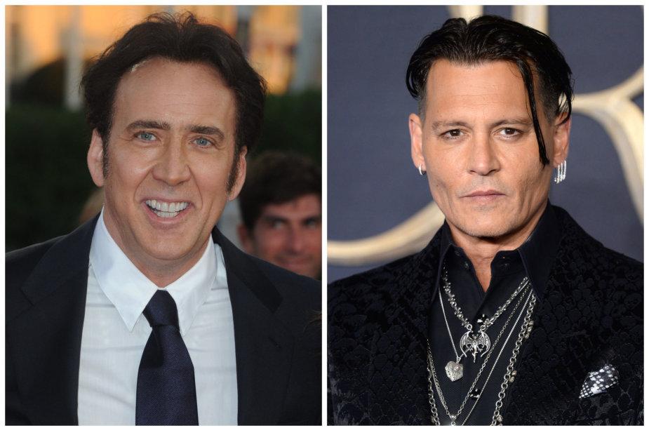 Nicolas Cage'as ir Johnny Deppas