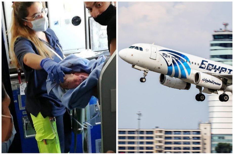 Lėktuve gimęs kūdikis