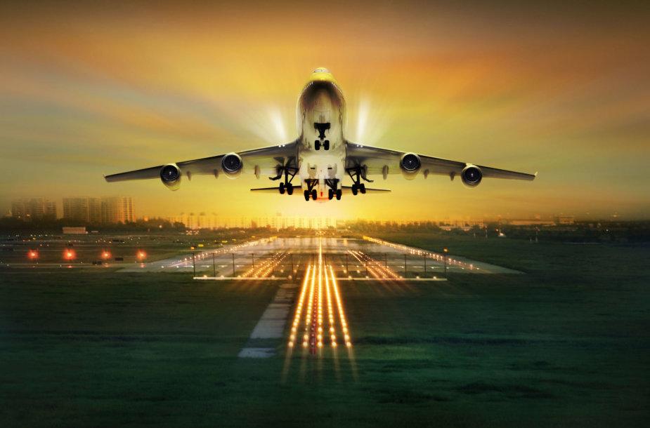 Kylantis lėktuvas