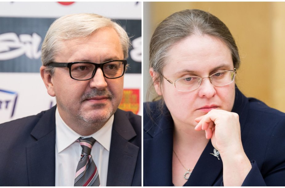 Audrius Siaurusevičius ir Agnė Širinskienė