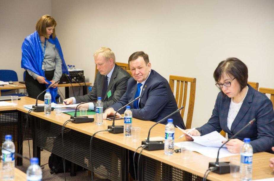 Komisija sprendžia, ar Kęstutis Pūkas nusipelnė apkaltos