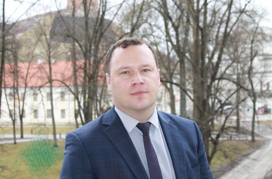 Lietuvos savivaldybių asociacijos patarėjas teisės klausimas Aleksandras Tiaškevičius