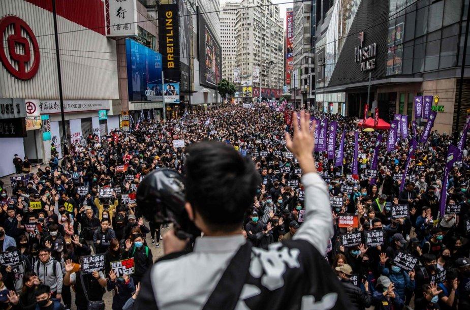 Demonstracijos Honkonge