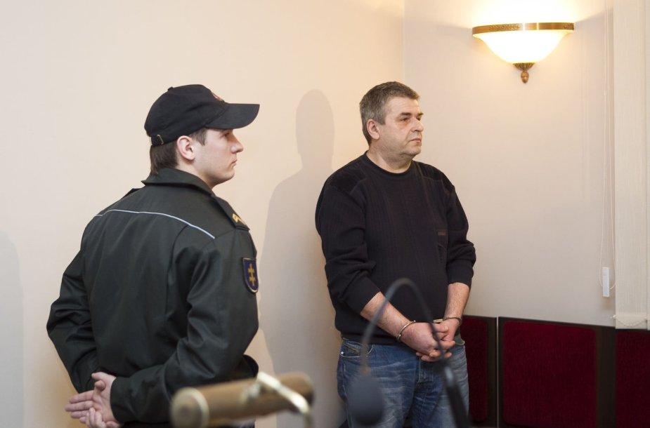 Romualdas Lipskis kaltinamas šnipinėjęs Baltarusijai.