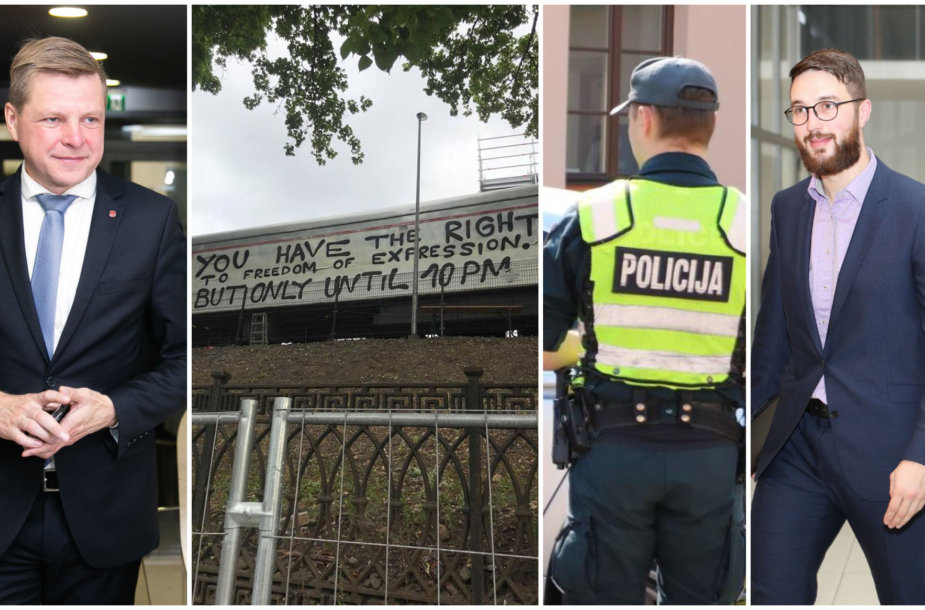 """Remigijus Šimašius, """"Platforma"""", policijos pareigūnas, Adomas Bužinskas"""