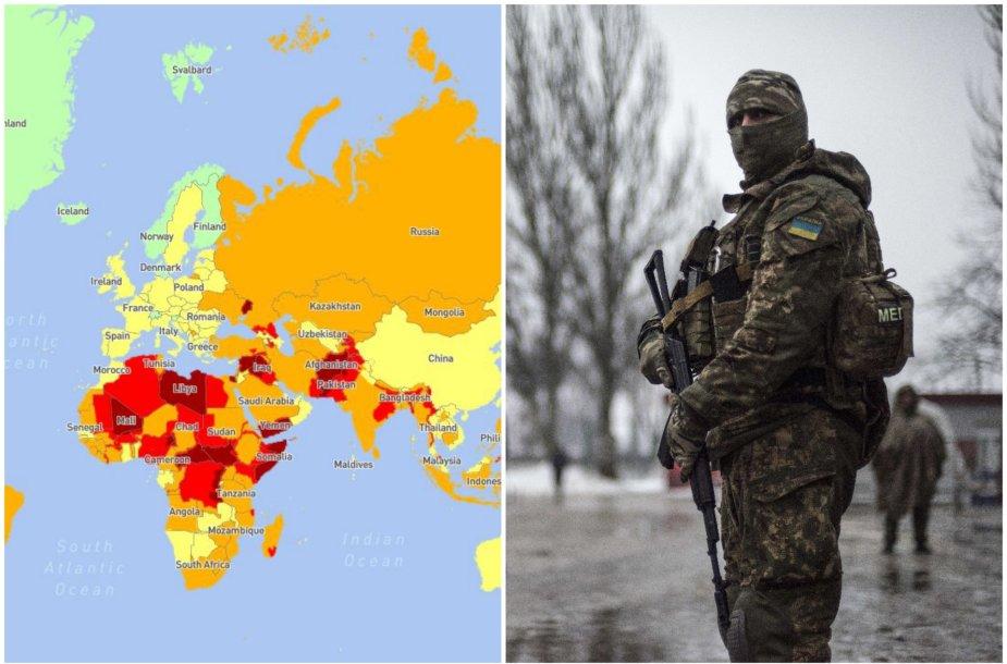 Rytų Ukraina paskelbta pavojingiausia teritorija Europoje