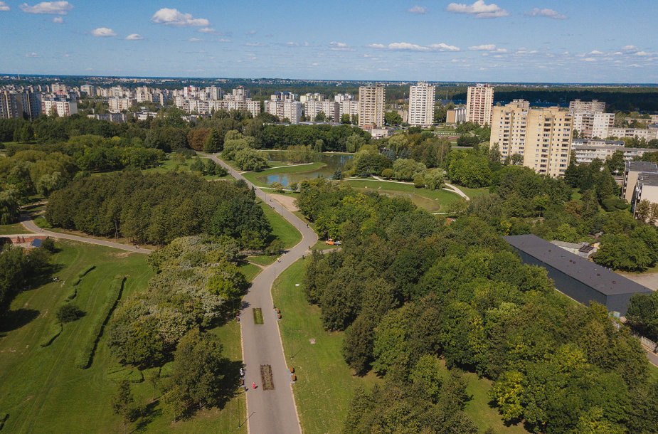 Atidaromas naujai atgimęs Kalniečių parkas