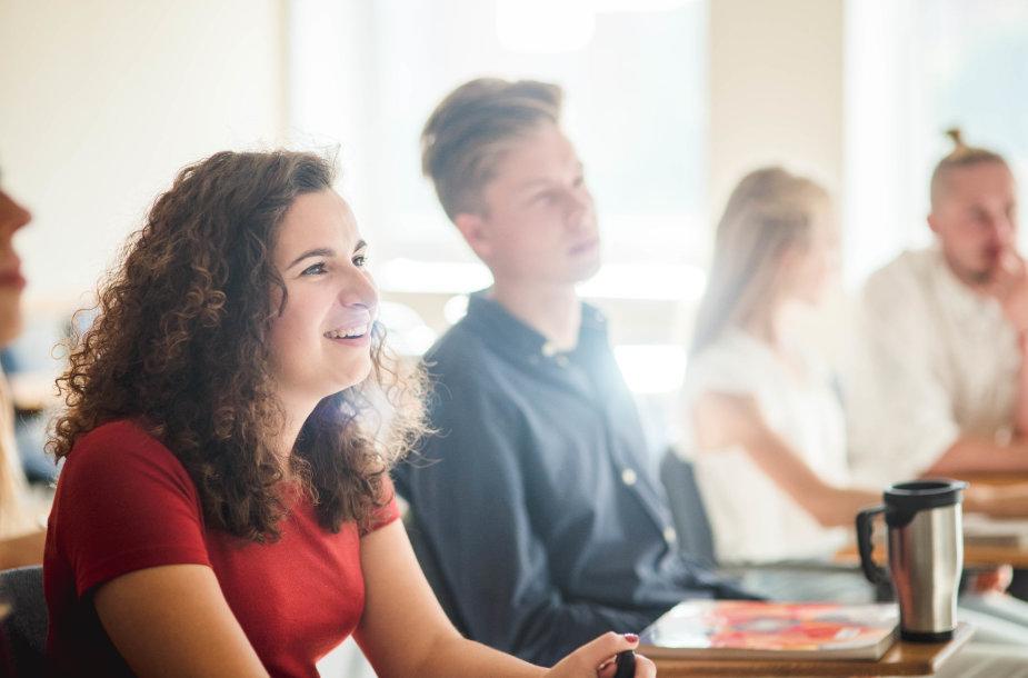 Daugiau nei pusė milijono eurų studentų paramai kasmet