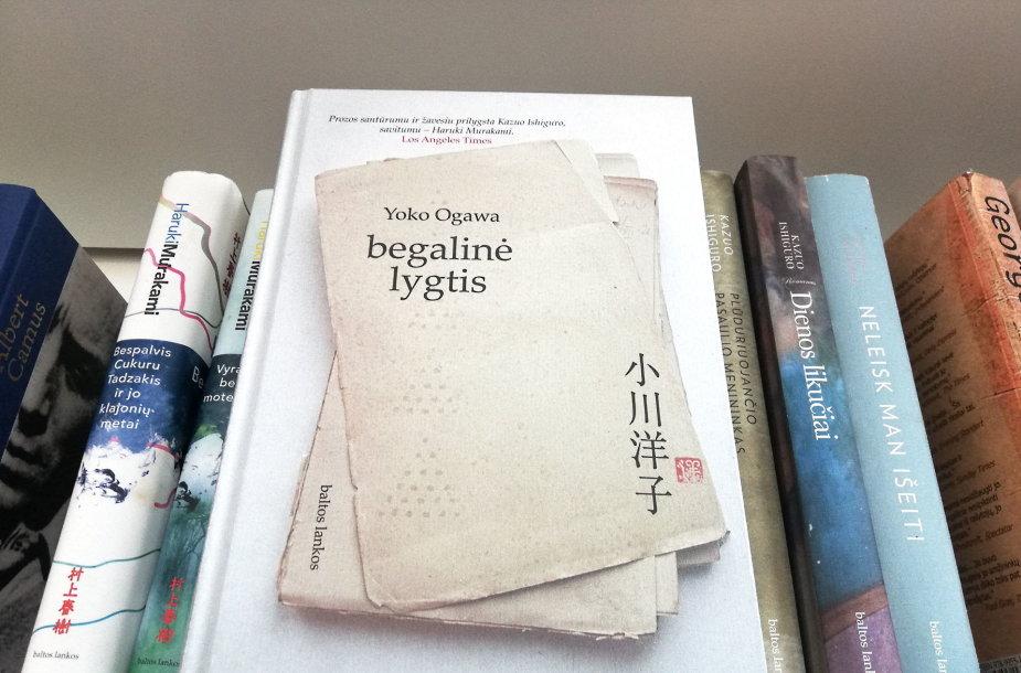 """Yoko Ogawa knyga """"Begalinė lygtis"""""""