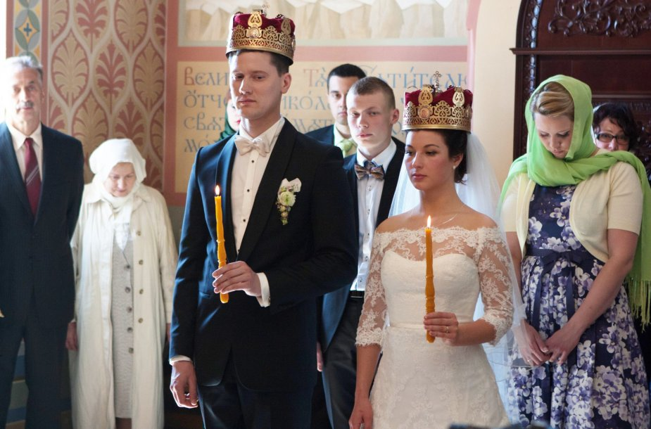 Dmitrijus Popovas ir Valerija Goncharova