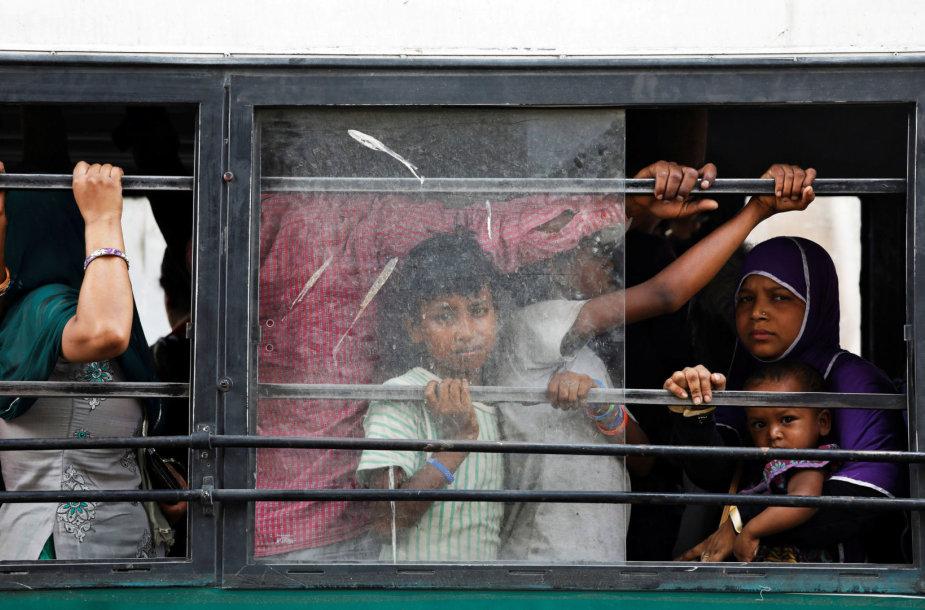 Autobusas Indijoje