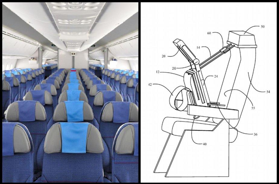 """Naujas """"Boeing"""" išradimas gerokai palengvintų ilgas keliones lėktuvu"""