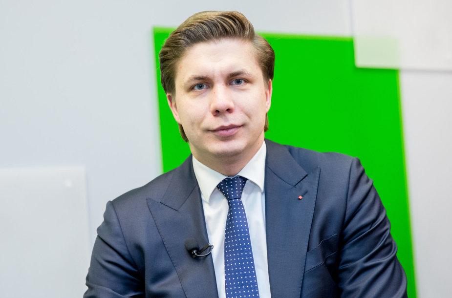 15min studijoje – ūkio ministras Mindaugas Sinkevičius