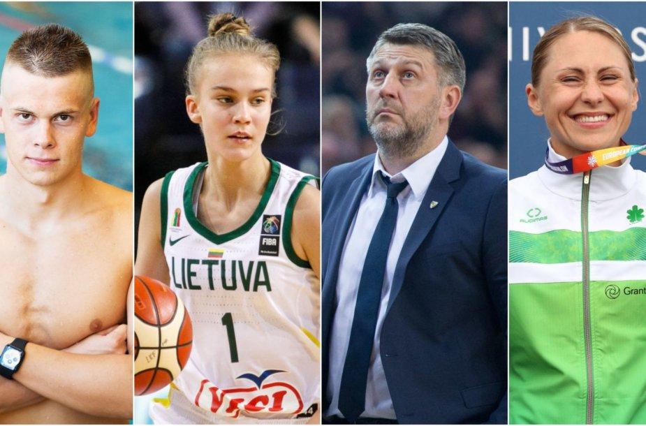 Danas Rapšys, Justė Jocytė, Darius Maskoliūnas, Laura Asadauskaitė-Zadneprovskienė