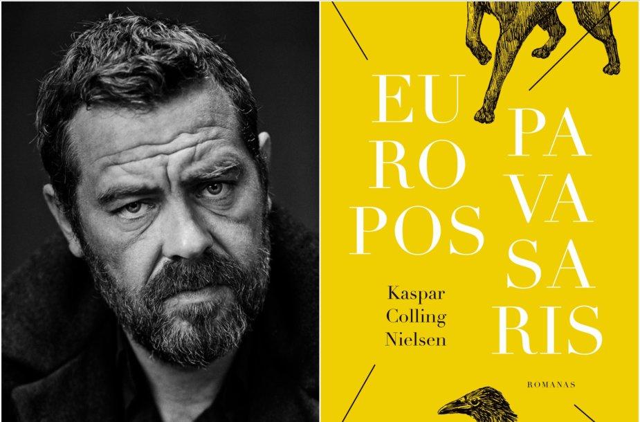 """Kasparas Collingas Nielsenas ir romanas """"Europos pavasaris"""""""