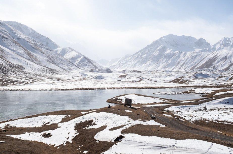 Sary-Mogol kaimas Kirgizijoje
