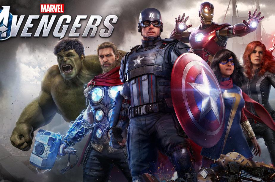 """Žaidimas """"Marvel`s Avengers"""""""