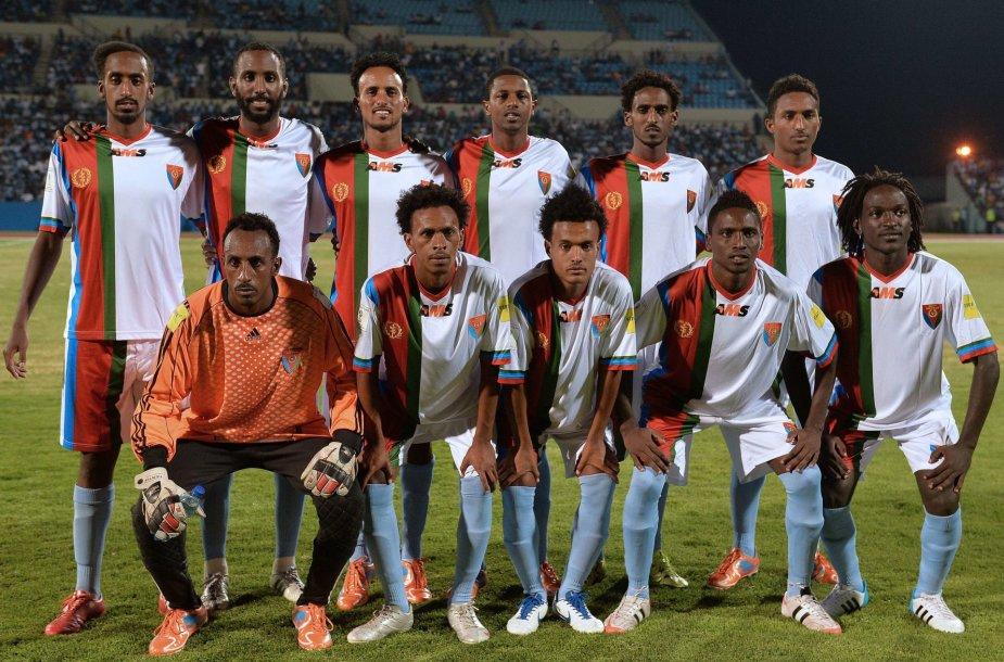 Eritrėjos futbolo rinktinė