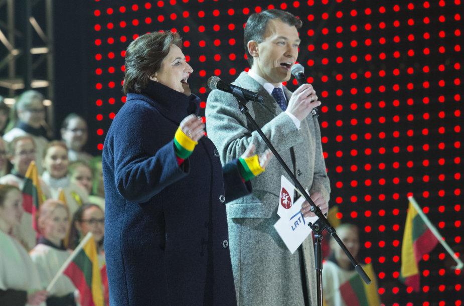 Marijus Žiedas ir Loreta Graužinienė